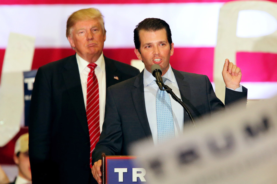 Donald Trump ja Donald Trump Junior