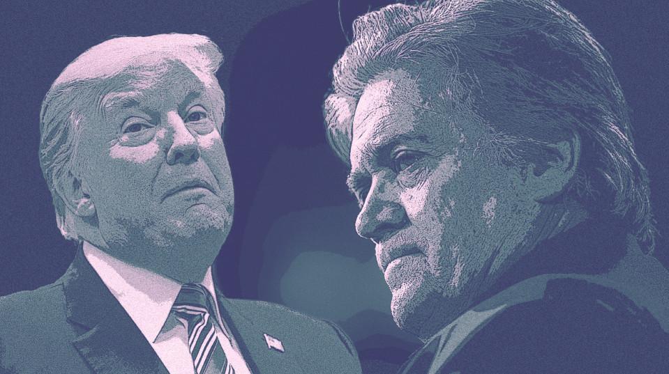 Donald Trump ja Steve Bannon