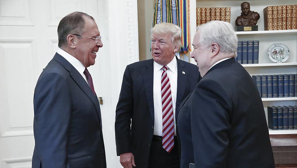 Trump Lavrov