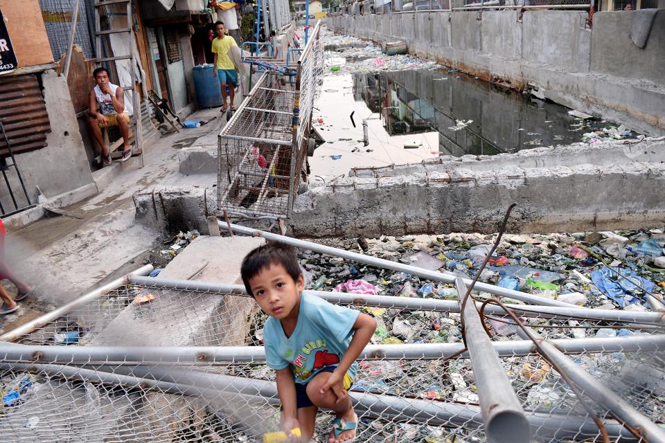 Jokikanava filippiinien Santa Ninossa.