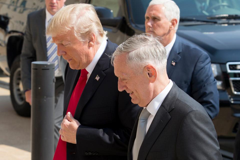 Trump ja Mattis