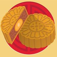 Moon Cake Cakes Pastry Pastries Dessert Desserts Festival