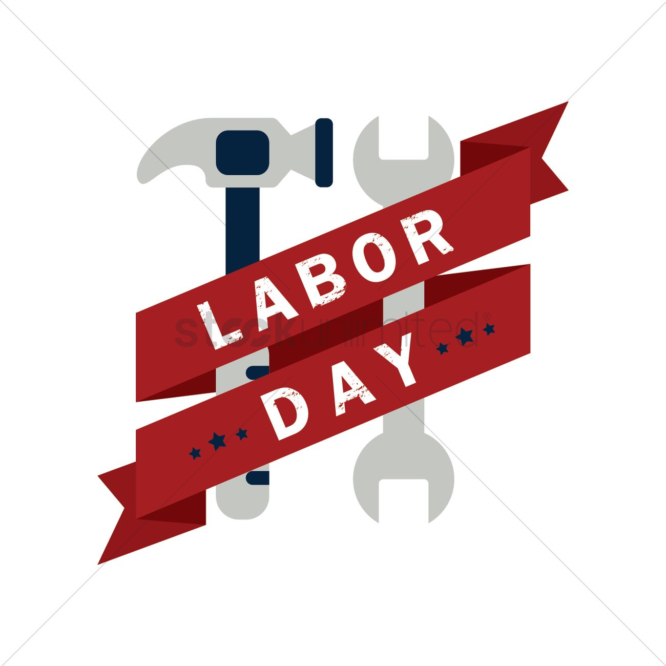 Us Labor Day Banner Vector Image