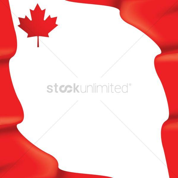 Canada flag wallpaper design Vector Image - 1974945 ...