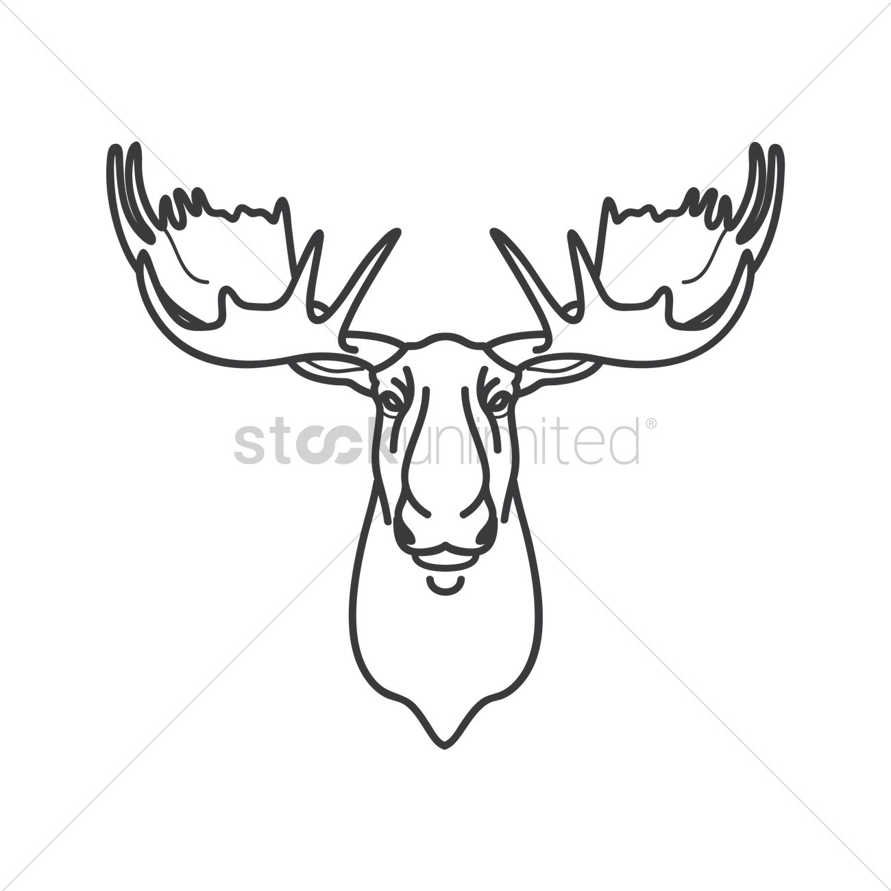 Clipart Moose