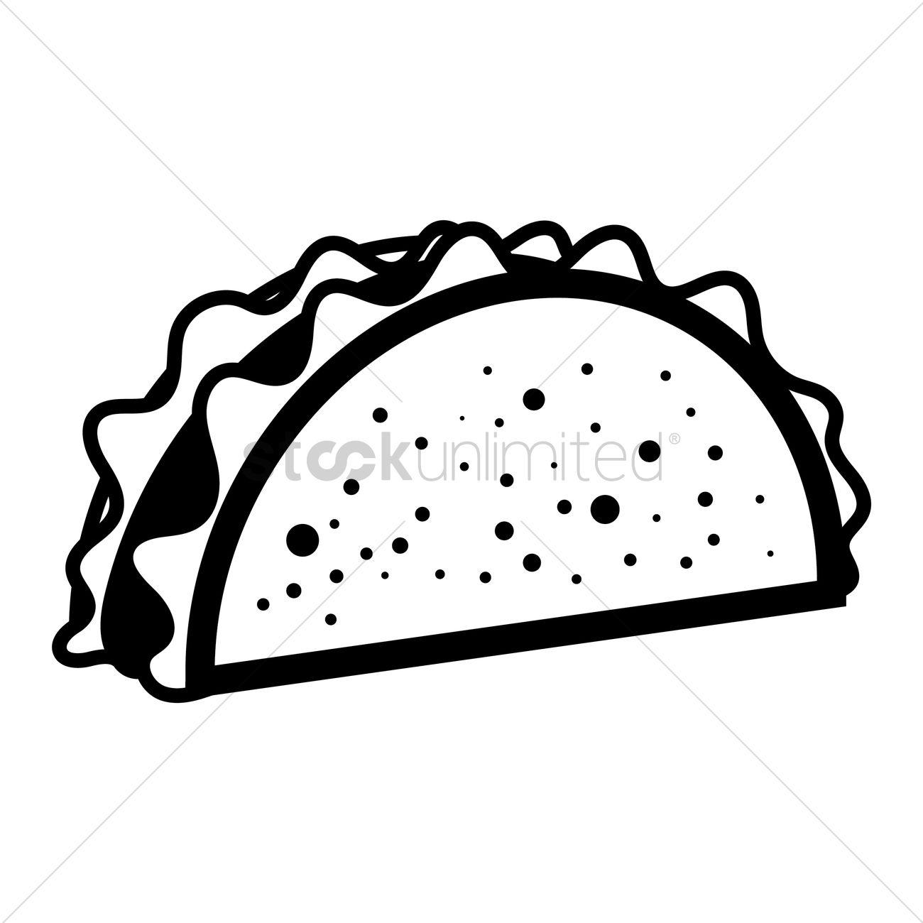 Taco Icon Vector Image