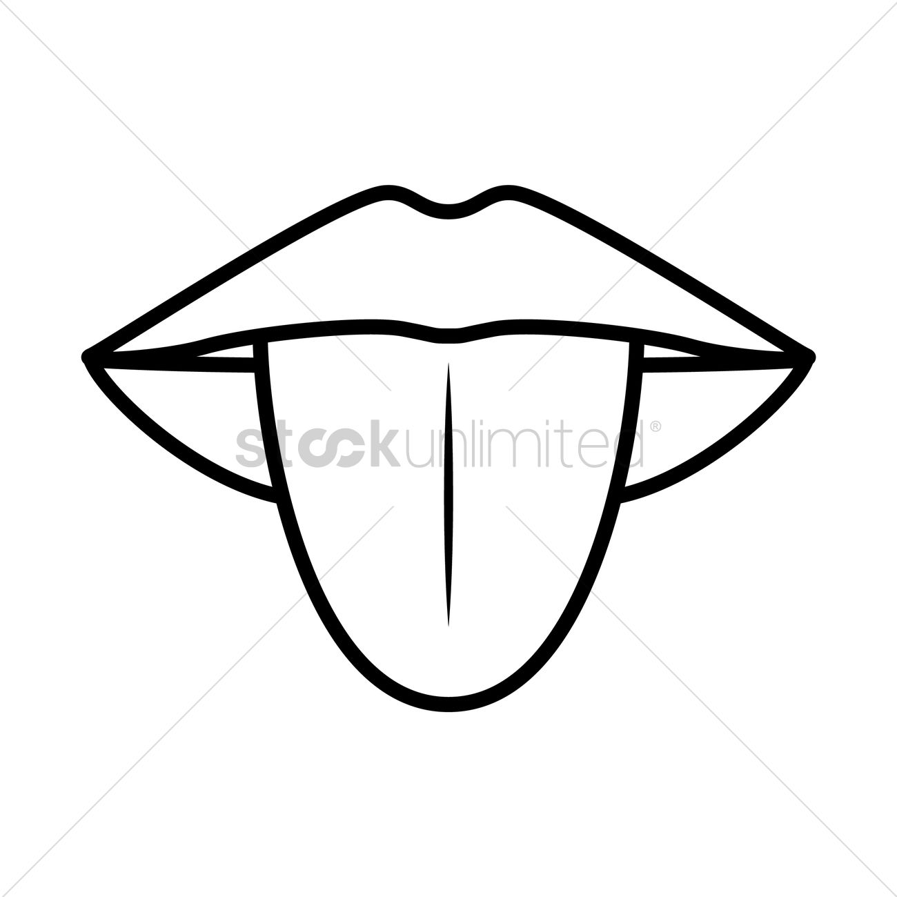 Tongue Vector Image