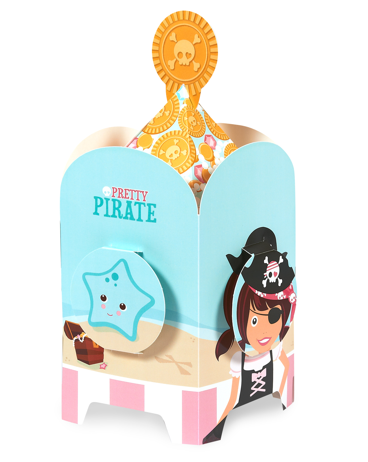 Pretty Pirates Party Centerpiece
