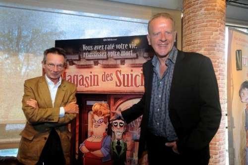 Jean Teulé a été soufflé par le Magasin des suicides version film d'animation de Patrice Leconte. Photo AFP /