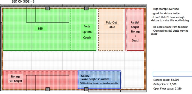This Floor Plan Is Very Similiar But He Has Put A Sorage Unit In Fron