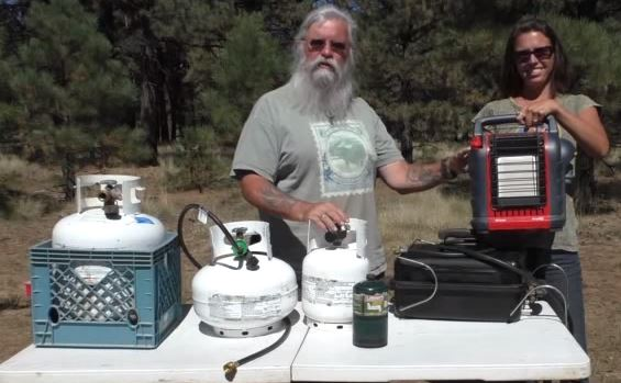There are many sizes of propane tanks, chances are one will work for you.