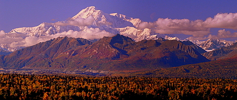 The longer you are in Alaska the more likely you are to see McKinley!