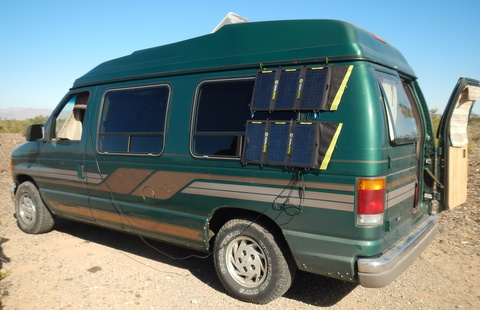 Andrew Picked Up This Very Nice High Top Conversion Van For Not Much Money