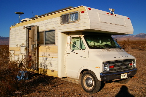 Cheap Rv Living Baby Steps Buying An Older Class C. This Is A Friends 1979 Class C I Cae With 70000 Miles And Rebuilt Engine. Wiring. Corsair Travel Trailer Wiring Diagram At Scoala.co