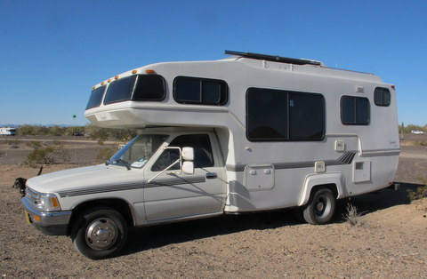 Cheap RV Living com -Baby Steps: Buying an Older Class C RV