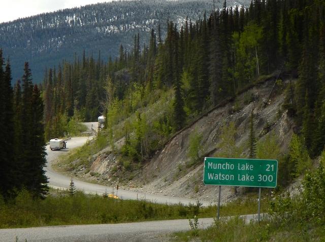 Safeway Gas Prices >> Cheap RV Living.com -Driving the Alaska Highway: Money, Gas and Cops