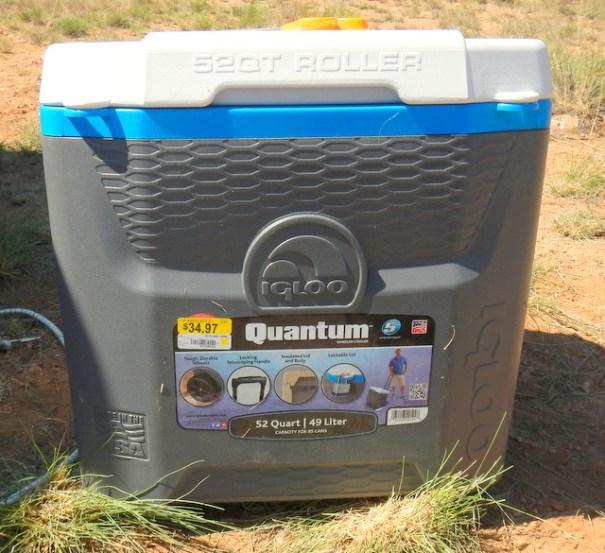 I bought an Igloo Quantum, 52 quart cooler.