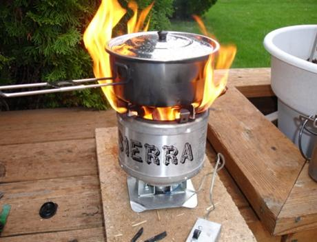I stole this photo from the Sierra Stove website.