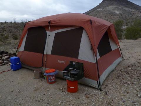 desert_rat_tent & Cheap RV Living.com-Tent Living Off-Grid