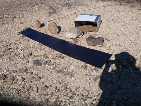 flexible-solar-panel-laid-out