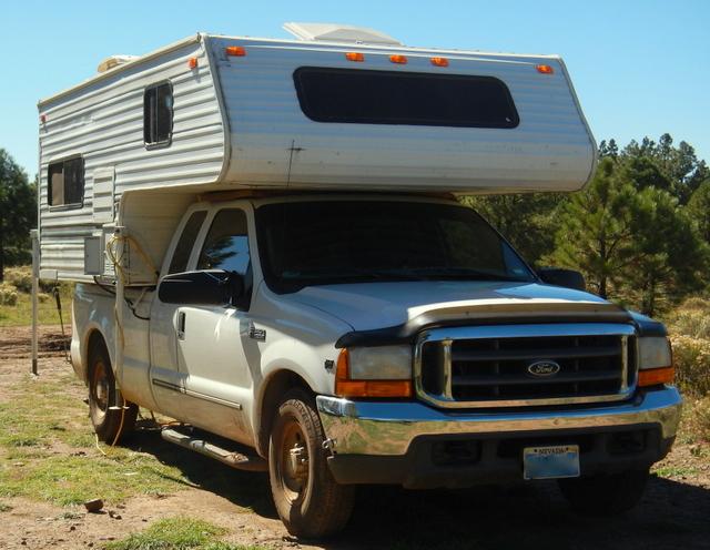Cheap Rv Living Com Living In A Truck Camper Truck