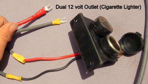 Cheap RV Living.com -Installing a 12 Volt Fuse Block on