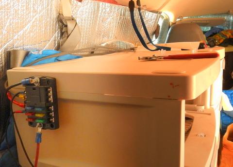 Cheap RV Living.com -Installing a 12 Volt Fuse BlockCheap RV Living
