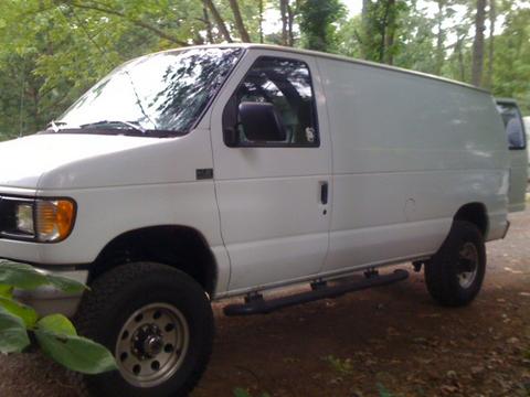 A Nice 4x4 Van Out Exploring