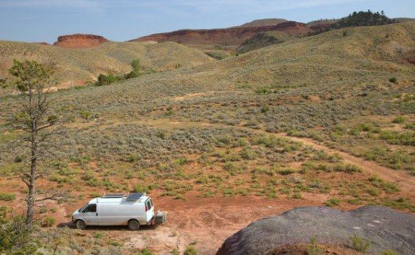 BLM land, Wyoming