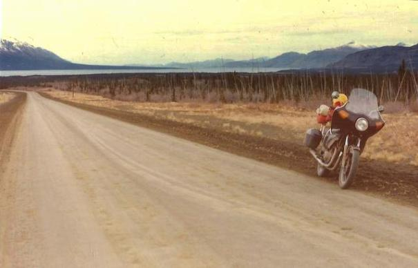 I have always had a craving for novelty and adventure. How else can I explain riding a motorcycle up the Alcan in the 80's when it was mostly still dirt and mud.