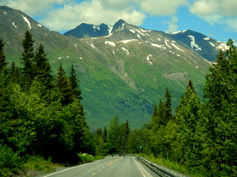 This is really typical of the scenery you will see.  Roads winding their way through the mountains.