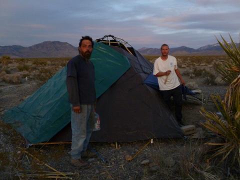 Cheap Rv Living Com Tent Living In The Desert