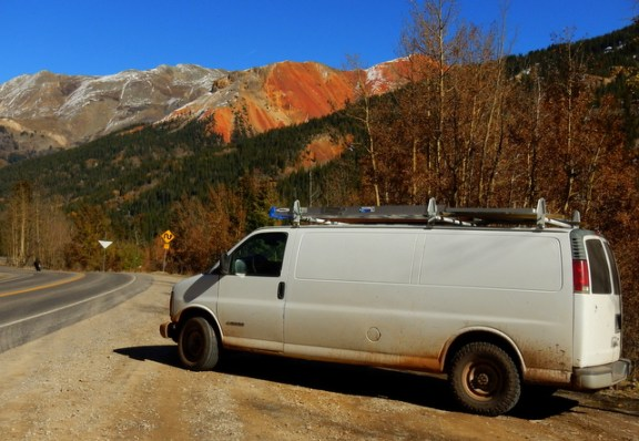 One of the few shots I took on this drive up to Ridgway.
