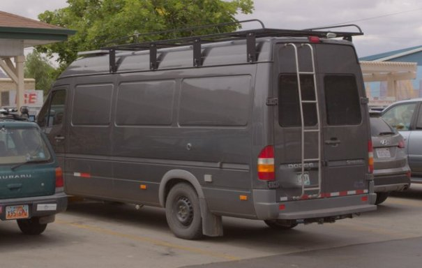 Tis Sprinter is old enough to be somewhat affordable and has some stealth ability. It would make a great home.
