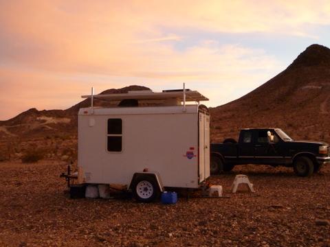 Cheap Rv Livingcom Living In A Converted Cargo Trailer