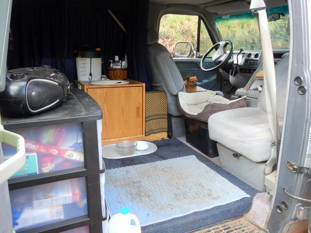 Ingenious Van Conversion With Simple Indoor Shower