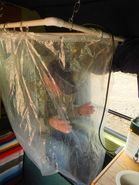 Creative Diy Camp Shower Enclosure Dyi  How To Build An Rv Outdoor Shower