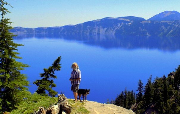 Beautiful Crater Lake NP.