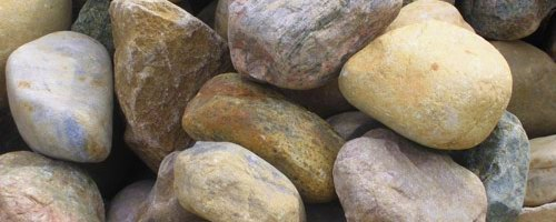 Cud sets these rocks on the woodstove over night to act as thermal mass.