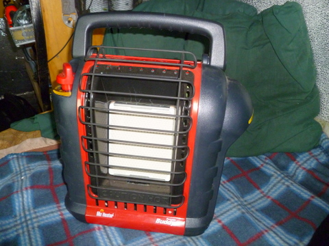 the Mr. Buddy Portable heaters work extremely well!