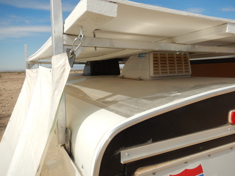 My Roof Stays Cool Because I Have A Plywood Cover Over It. You Can Also