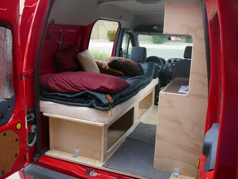 Honda Element Table >> Cheap RV Living.com -Converting a Ford Transit Connect