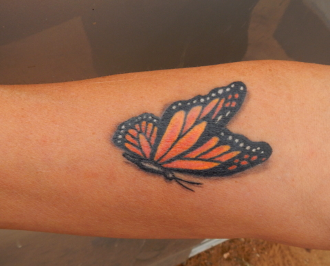 Jud'ys gorgeous new tattoo!