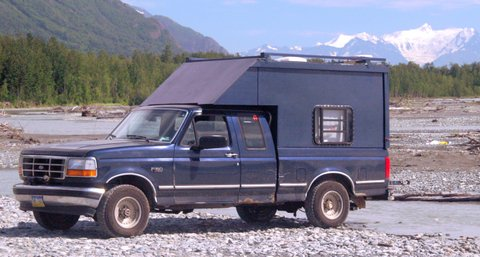 Build Your Own Camper No Comments Truck Site Glacier