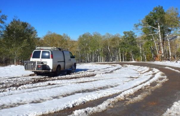 My camp near Salt Lake where I went to pick up my son.