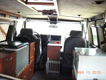Cheap RV Living Easy Van Conversion