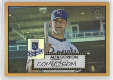 2007 Topps 52 Chrome Gold Refractors #14 - Alex Gordon/52 - Courtesy of CheckOutMyCards.com