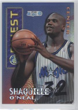 1995-96 Finest Mystery Borderless Refractors/Gold #M22 - Shaquille O'Neal - Courtesy of CheckOutMyCards.com