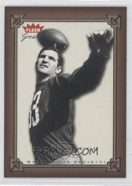 2004 Greats of the Game #13 - Sammy Baugh - Courtesy of CheckOutMyCards.com