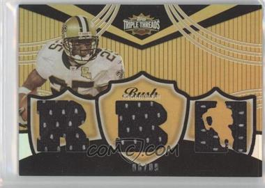 2006 Topps Triple Threads Relic Gold #TTR29 - Reggie Bush/9 - Courtesy of CheckOutMyCards.com